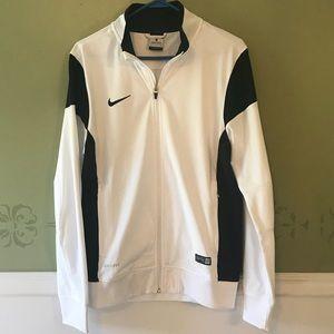 Nike dri-fit full zip jacket Men's small, LIKE NEW